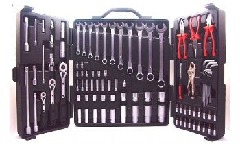 93pcs Prefessional Mechanic Tool Kit